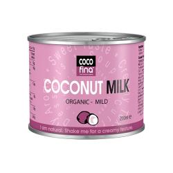 Молоко кокосовое Cocofina органическое, 200 мл
