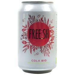 """Напій газований соковмісний FREE.SH """"Кола"""" органічний, 330 мл"""