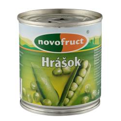 Зелений горошок Novofruct стерилізований, 200 г