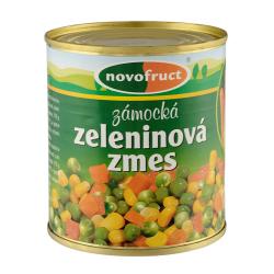 Овочевий мікс Novofruct стерилізований, 300 г