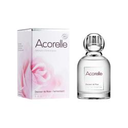 Acorelle Organic Eau de Parfum Silky Rose, 50 ml