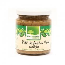 Паста із зелених оливок Campomar Nature органічна, 80 г