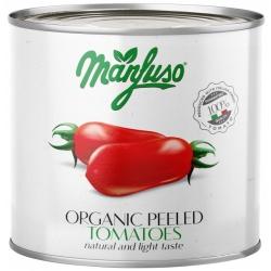 Томати цілі очищені Manfuso органічні 2,5 кг