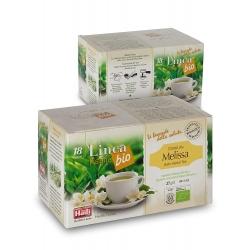 Чай з мелісою Haiti Roma в монодозах органічний (18 х 1,5 г)
