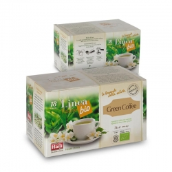 Кофе зелёный молотый Haiti Roma в монодозах органический (18 х 4 г)