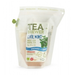 The Teabrewer by April Love Cool Mint Organic Herbal Tea, 7 g