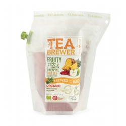 The Teabrewer by April Love Fruity Figs & Pineapple Organic Fruit Tea, 9 g