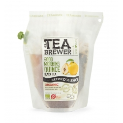 The Teabrewer by April Love Good Morning Quince Organic Black Tea, 4 g