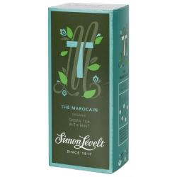 Simon Lévelt Thé Marocain Organic Green Tea, 20 teabags