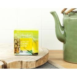 Simon Lévelt Exotic Lime Organic Green Tea, 10 teabags