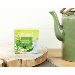 Simon Lévelt Jasmine Organic Green Tea, 10 teabags