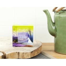 Simon Lévelt Lavender Maté Organic Herbal Tea, 10 teabags