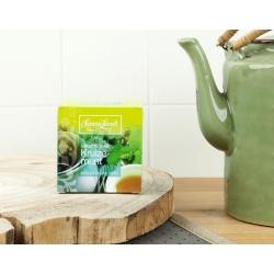 Simon Lévelt Green Tea Mint Organic Green Tea, 10 teabags