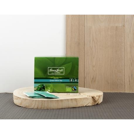 Чай зелений Green Mint Tea Simon Lévelt органічний, 50 пакетиків