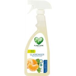 Planet Pure Organic Glass Cleaner Tangerine & Basil, 510 ml