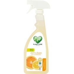"""Засіб для видалення жиру """"Апельсин і лимон"""" Planet Pure органічний, 510 мл"""