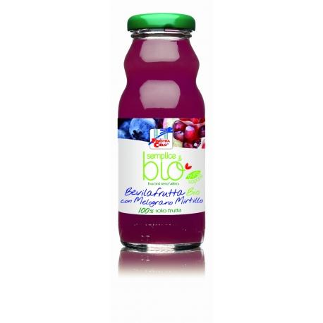 La Finestra Sul Cielo Organic Pomegranate & Blueberry Juice, 200 ml