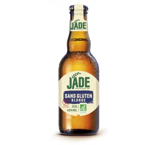 Jade Blonde Gluten-Free Organic Beer, 33 cl