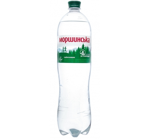 Вода мінеральна Моршинська слабогазована, 1,5 л