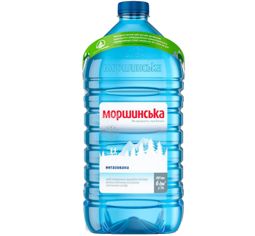 Вода мінеральна Моршинська негазована, 6 л