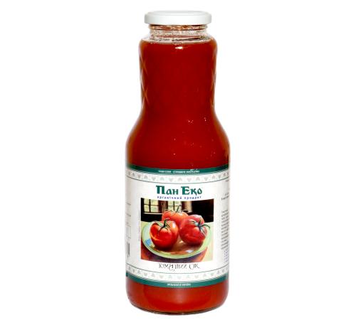 """Сік томатний """"Пан Еко"""" органічний, 1 л"""