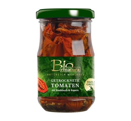 В'ялені томати в олії Rinatura органічні, 180 г