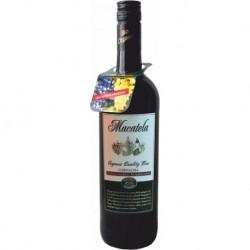 Вино червоне сухе Macatela Garnacha органічне 0,75 л