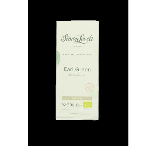 Simon Lévelt Indian Green Organic Green Tea, 20 teabags