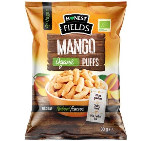 Organic mango flavored corn snack 30g Honest Field Romania