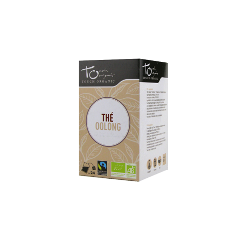 Oolong tea 48g (24 * 2g) fermented in organic bags TOUCH ORGANIC China