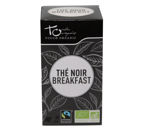 Black Tea Breakfast Tea 48g (24*2g) fermented in bags organic TOUCH ORGANIC China