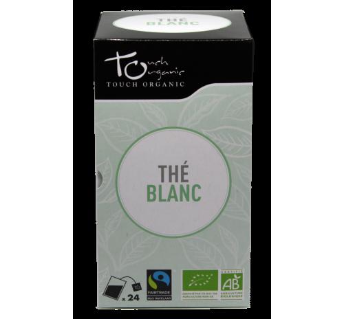 Чай білий 48г(24*2г) неферментований в пакетиках органічний TOUCH ORGANIC Китай
