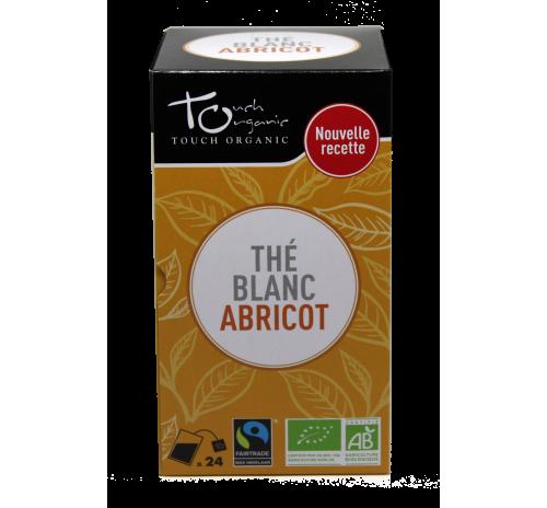 Чай білий 43,2г(24*1,8г) з ароматом абрикосу неферментований в пакетиках органічний TOUCH ORGANIC Китай