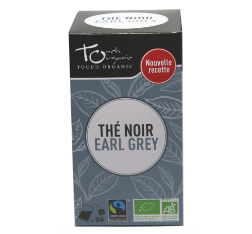 Earl Gray black tea 43,2g (24*1,8g) with bergamot aroma fermented in bags organic TOUCH ORGANIC China