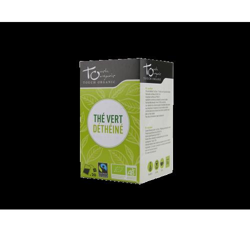 Чай зеленый 30г (24*1,5 г) без кофеина неферментированый в пакетиках органический TOUCH ORGANIC Китай