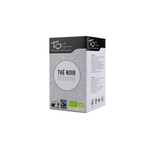 Чай черный 30г (24*1,5 г) без кофеина ферментированный в пакетиках органический TOUCH ORGANIC Китай