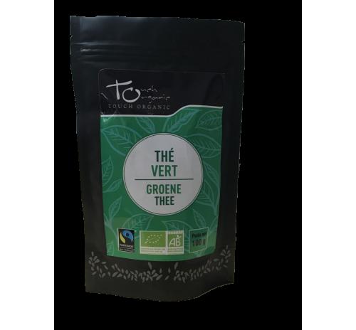 Чай зеленый Чун Мэй 100г неферментированый рассыпной органический TOUCH ORGANIC Китай