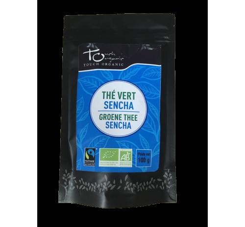Чай зеленый Сенча 100г неферментированый рассыпной органический TOUCH ORGANIC Китай