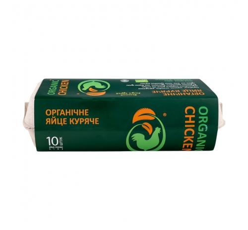 Яйце куряче 10шт, органічне Organic chicken