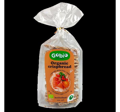 Organic Buckwheat bread with sea salt 100g, GO BIO Ukraine