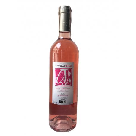 Вино рожеве сухе Pink by Beynat 2015 органічне 0,75 л