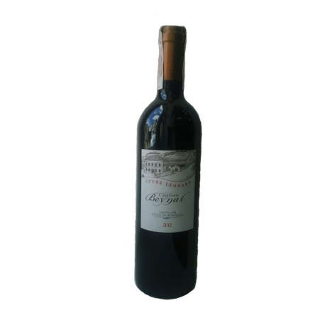 Вино червоне сухе Château Beynat Cuvée Léonard 2012 органічне 0,75 л