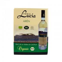 Вино біле сухе Vega Lucia Airen органічне, 3 л