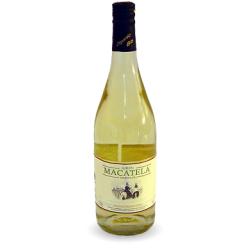 Вино біле напівсолодке Macatela Airen органічне 0,75 л