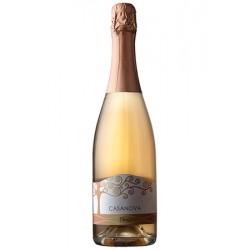 Вино ігристе рожеве брют Olmè Casanova органічне 0,75 л