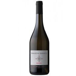 Вино біле сухе Corvezzo Renovatio Manzoni Bianco органічне 0,75 л