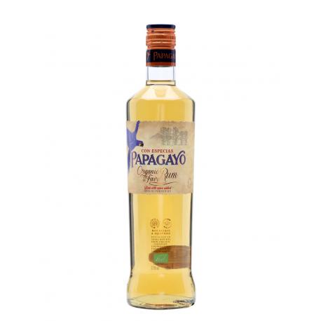 Ром органічний Papagayo зі спеціями 0,7 л