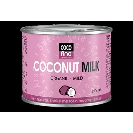 Молоко кокосове Cocofina органічне, 200 мл