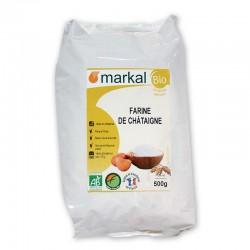 Борошно з каштанів Markal органічне, 500 г