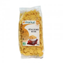 Кукурудзяні пластівці Markal органічні, 200 г